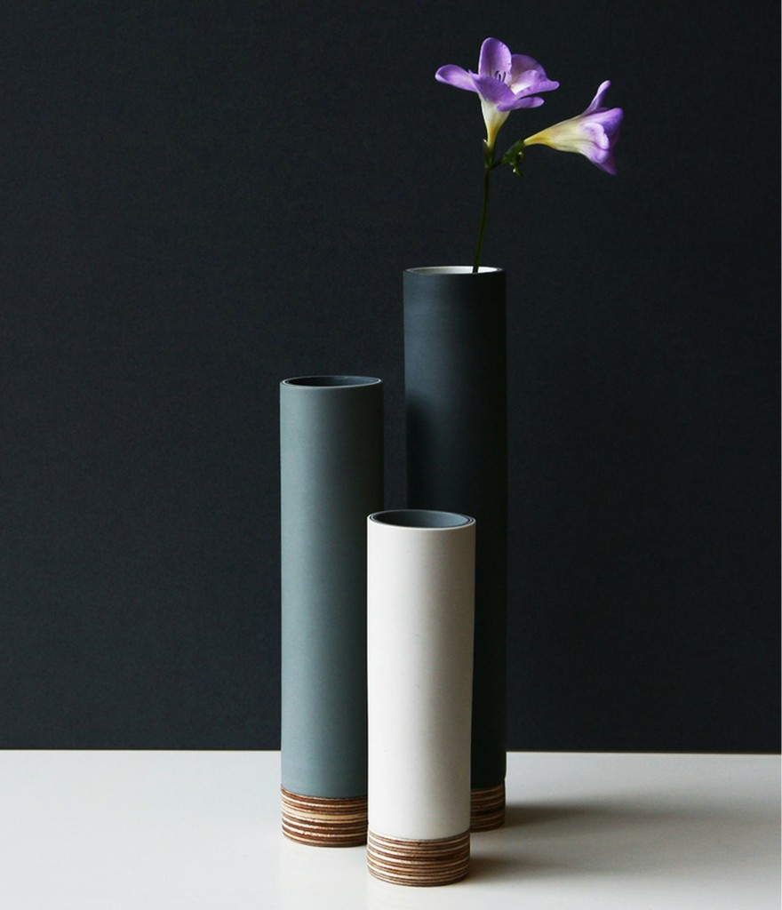 Tower Vase, Made By Hand Online £56.00