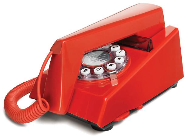 Wild & Wolf Trim Phone, Red Candy £29.00