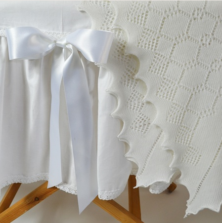 Elegant Soft Wool Baby Shawl, GH Hurt & Son Ltd £68.00