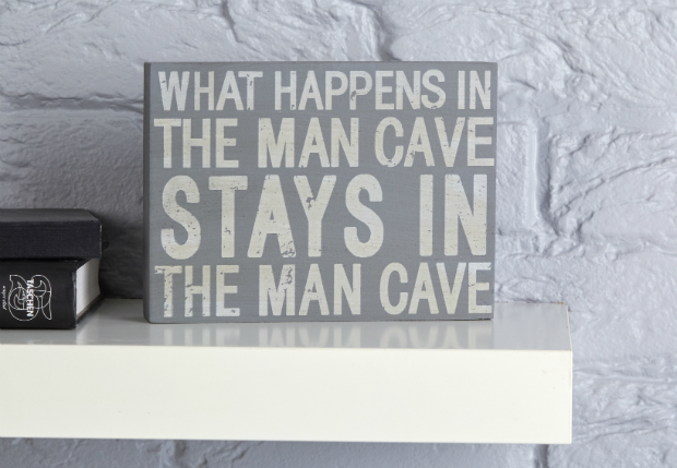 Man Cave Plaque, The Contemporary Home £9.00