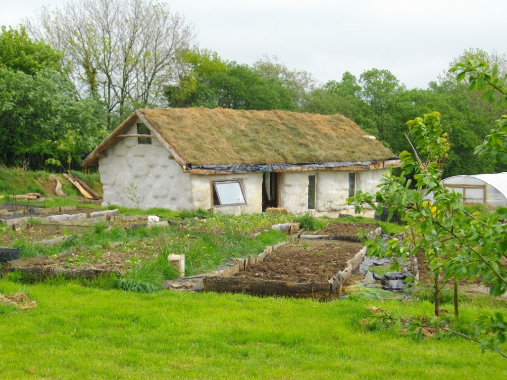 The Lammas Eco Village, Somerset