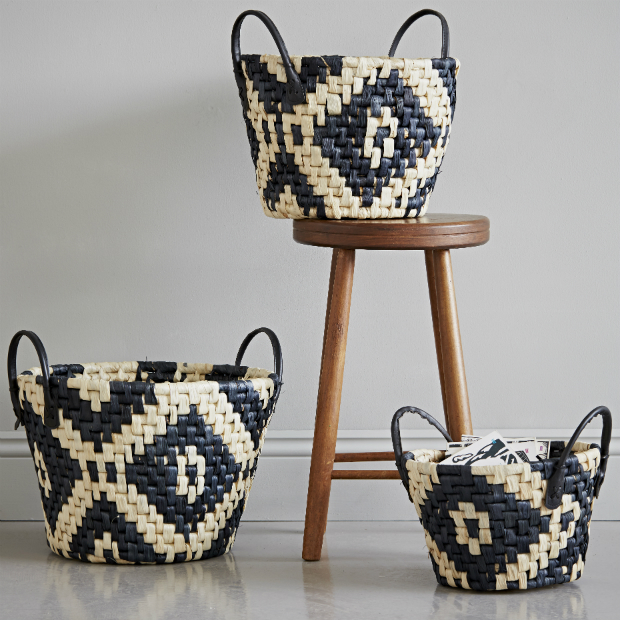 Set of 3 Woven Baskets, rigby & mac £48.00