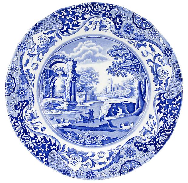 Spode Blue Italian Dinner Plate, John Lewis £16.00