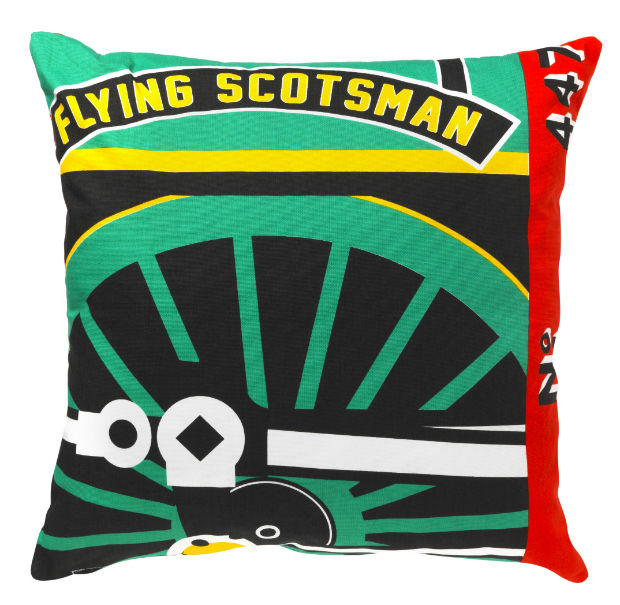Flying Scotsman Wheel Cushion, National Railway Museum £35.00
