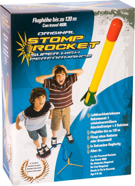 Original Stomp Rocket, Amazon £9.02