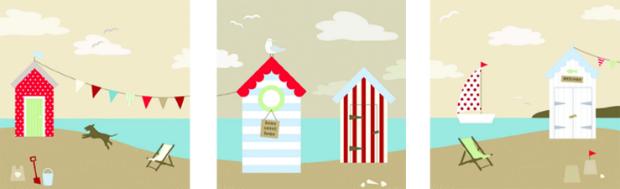 Beach Huts, Arthouse £14.99