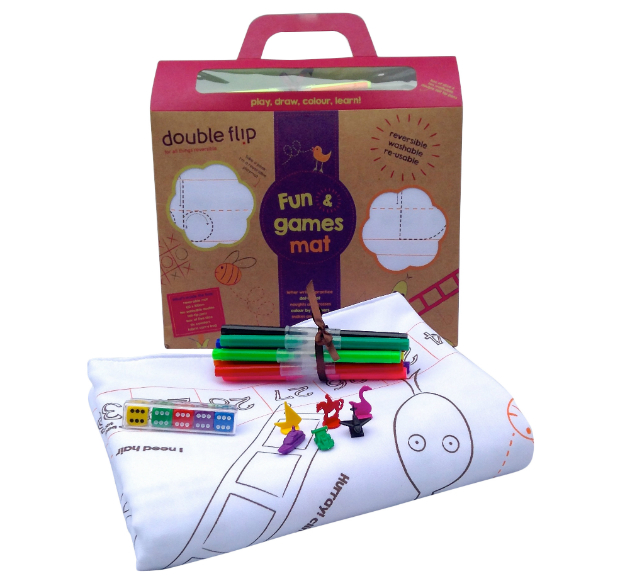 Fun & Games Double Sided Activity Play Mat For Children, Gift Wrapped & Gorgeous £24.00