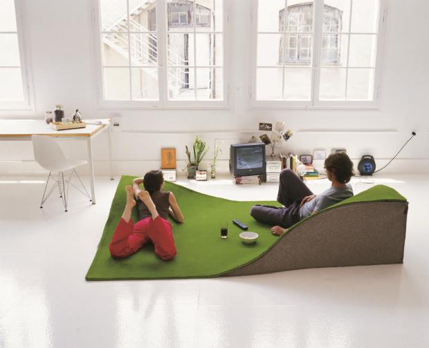 Nani Marquina Flying Carpet rug, Go Modern Furniture £2070.00