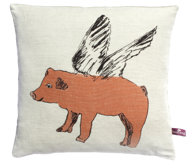 Flying Pig Cushion, IN-SPACES £60.00