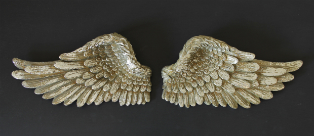 Small Silver Angel Wings, Melody Maison £12.95