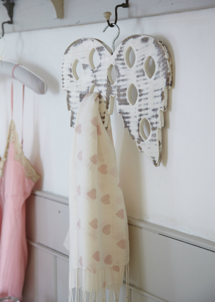 Angel Wings Scarf Holder, The Contemporary Home £18.00