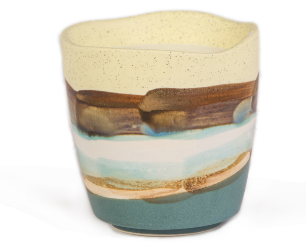 Terrain Watercolour Candle Earl Grey & Cucumber, Berry Red £25.00