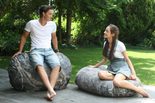 Stone Bench Outdoor, MeroWings International