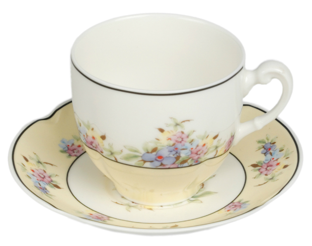 Vintage Primrose Cup & Saucer, The Contemporary Home £11.50