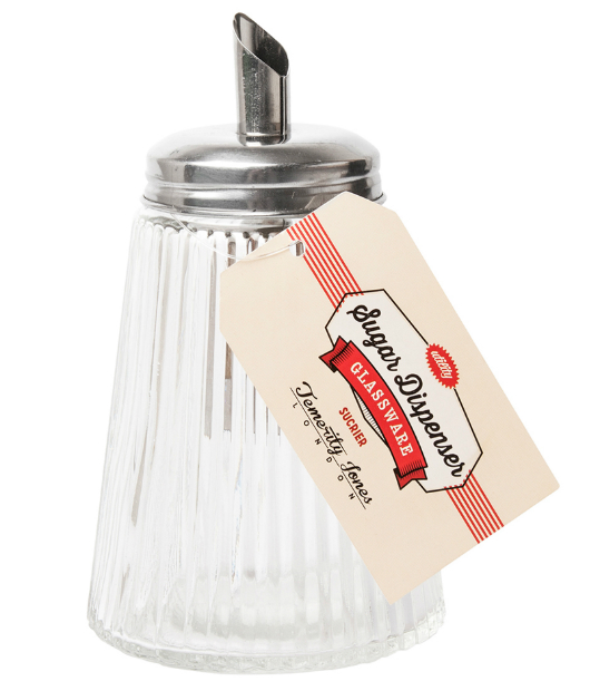 Vintage Sugar Dispenser, The Gift Oasis £7.99