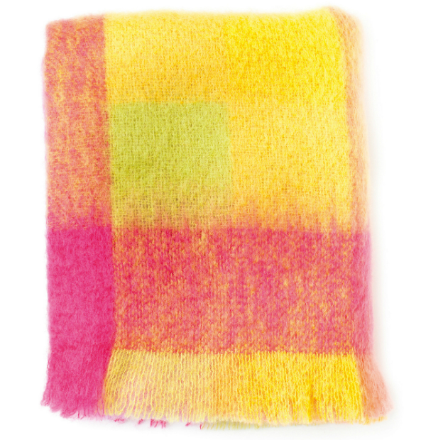 Lotus Mohair Throw, iapetus £99.00