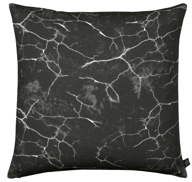 By Nord Marble Cushion Black, Houseology £69.00