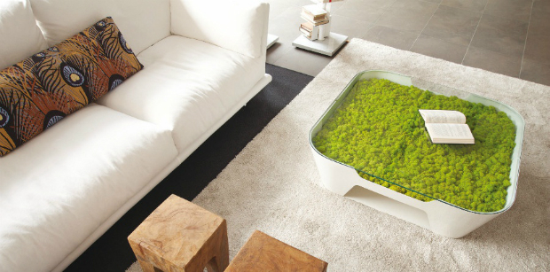 Moss Design Collection, Verde Profilo