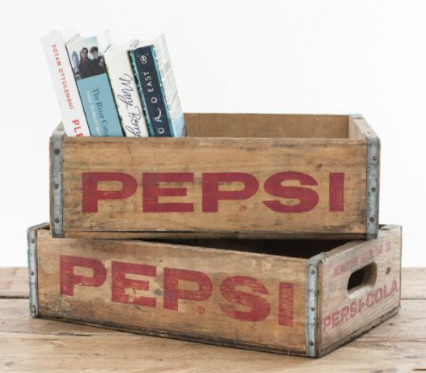 Vintage Wooden Pepsi Crate, The Other Duckling £35.00