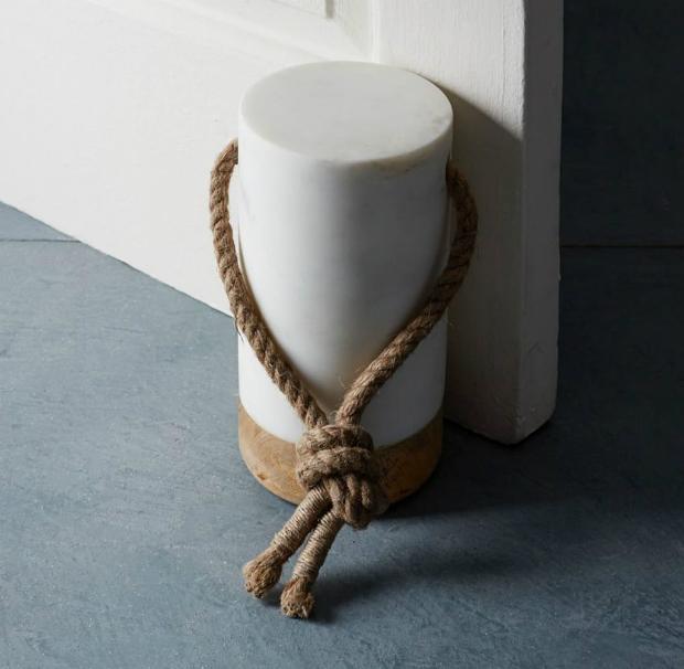 Nautical Marble Doorstop, West Elm £54.00