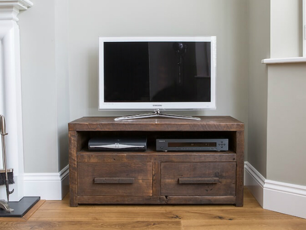 Qube TV Stand With Drawers, Eat Sleep Live from £540.00