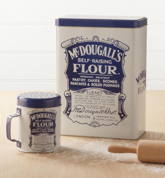 McDougall's Flour Tin & Sifter, The Contemporary Home £15.00 & £9.00
