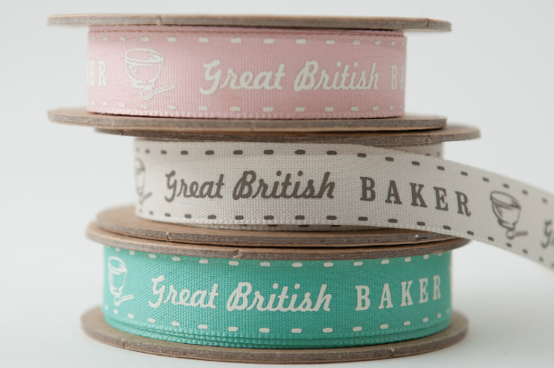Great British Baker Ribbon, The Oak Room £1.00