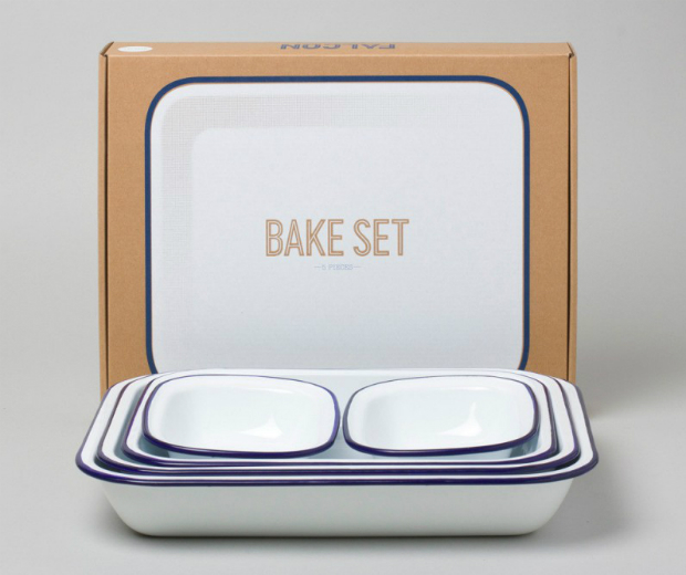 Falcon Enamelware Bake Set, Design 55 £54.99