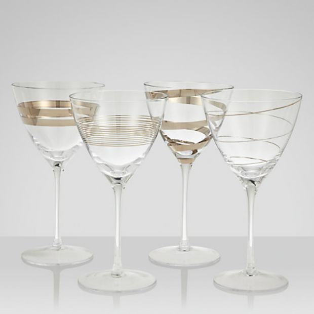 LSA International Gatsby Wine Glasses, John Lewis £70.00