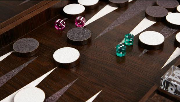 Backgammon Set - Smoked Oak, Lux Deco, £1,500.00