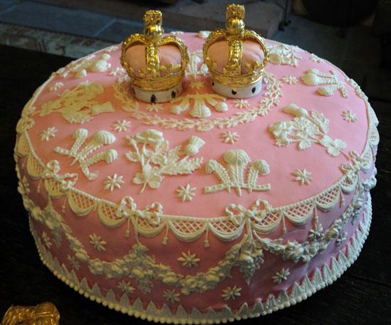 Twelfth Night cake from HistoricFood.com
