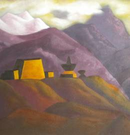 Mosteiro nos Himalayas