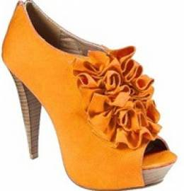Qupid Figure-39 Oranges Heels