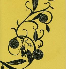 Caderno Assimétrico Festival do Chá e Ervas do Mundo