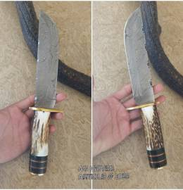 Handmade Hunting Knife by ag 065