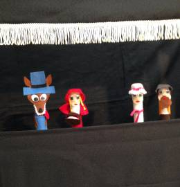 Teatro de Dedos - Capuchinho Vermelho