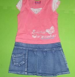 Conjunto menina 2-3 anos