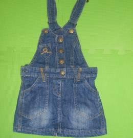 Vestido ganga menina 3-4 anos