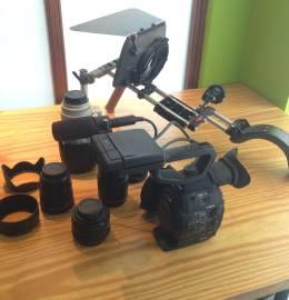 Equipamento de Filmagem e Video Profissional