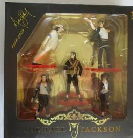 Michael Jackson - Caixa com 5 Figuras em Poses Icónicas