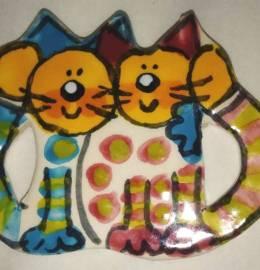 Íman gatos com pintas 07