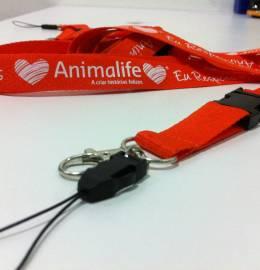 Fita  Porta Chaves + Telemóvel Animalife
