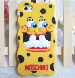 capa iphone 5 moschino silicone