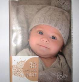 Álbum para fotografias Baby