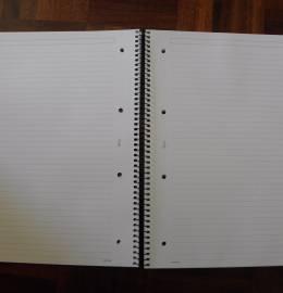 Caderno Argolas GORMITI A4 (linhas)
