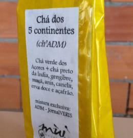 Chá dos 5 Continentes ou Ch'ADM - uma mistura exclusiva e única!