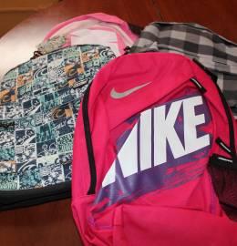Mochilas Nike e Firmo