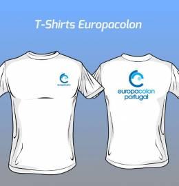 T-Shirts - Europacolon  Portugal - 160 gramas