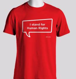 T-Shirt: I Stand for Human Rights