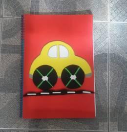 Caderno A4 de Linhas decorado